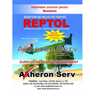 Extensie header pentru recoltat rapita DMM model - REPTOL