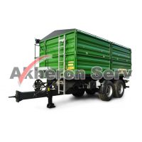 Remorcă Zaslaw tandem 14 XL t - model D-762-14 XL