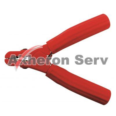 Cleste curent baterie rosu (+)