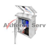 Set gard electric cu panou solar si cutie de protectie antifurt - 87633